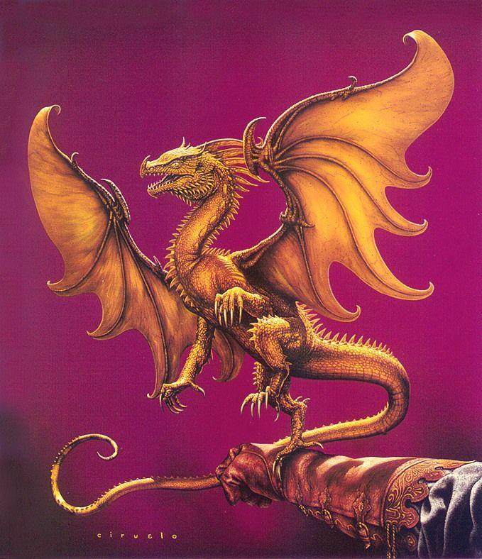 Кто рисовал крылатого дракона 118